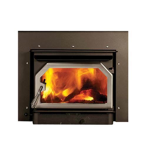 Striker Wood Burning Insert - 1,300 Sq. Ft. - Traditional Door
