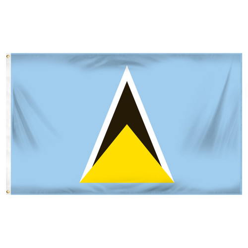St. Lucia Flag 3ft x 5ft Printed Polyester