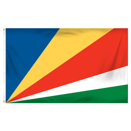 Seychelles Flag 3ft x 5ft Printed Polyester