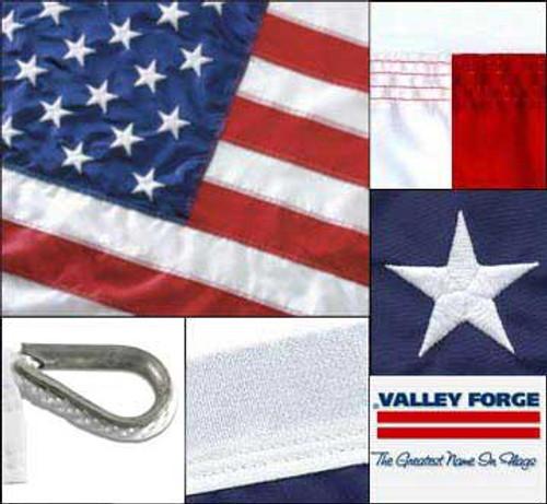 US Flag 15ft x 25ft Sewn Nylon