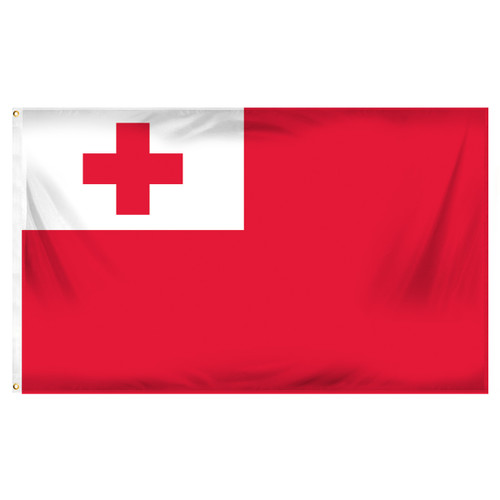 Tonga Flag 3ft x 5ft Printed Polyester