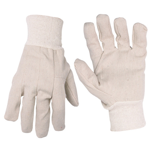 Economy Cotton Canvas Gloves by CLC - Pack of 12 Pairs