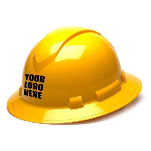 Custom Pyramex Ridgeline 4-Point Full Brim Hard Hat