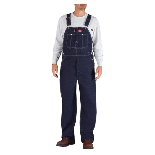 Dickies Men's Indigo Blue Denim Bib Overalls - 83294
