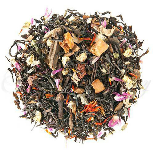 Frosty Plum Spice Flavored Black Tea - Loose Leaf