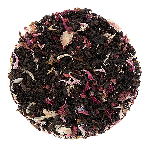Organic Sugar Plum Pudding Flavored Black Tea - Loose Leaf