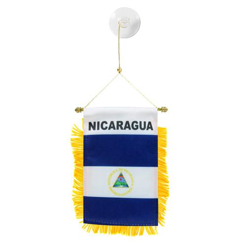 Nicaragua Mini Window Banner