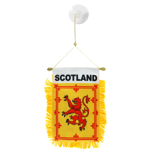 Scotland Lion Mini Window Banner