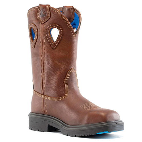 Steel Blue Men's Blue Heeler Steel Toe Boot - 813945