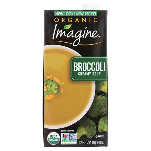 Organic Imagine Broccoli Creamy Soup -   32oz (1QT)
