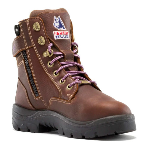 Steel Blue Ladies MET Southern Cross Zip: PR Midsole Steel Toe Boot - 892853