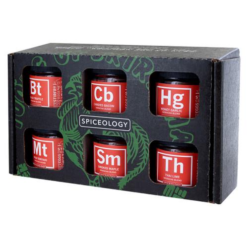 Spiceology Sriracha Lovers 6 Pack - Glass Jars