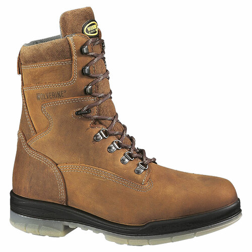 "Wolverine 8"" DuraShocks Waterproof Insulated Work Boots - W03238 & W03295"