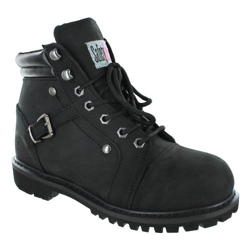 Fusion Work Boot - Safety Girl - Black
