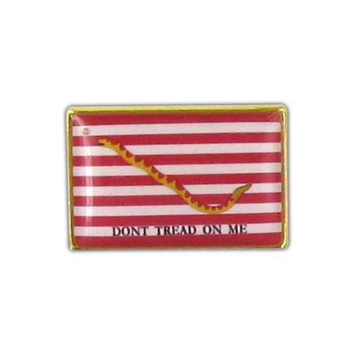 First Navy Jack Flag Lapel Pin