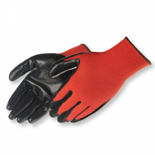 FroGrip Q-Grip Red Ultra-Thin Nitrile Palm Coated Work Gloves - 4631Q/RD