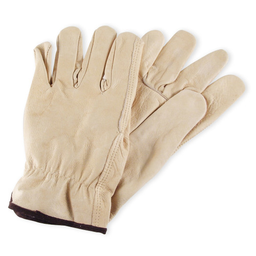 Wells Lamont Economy Grain Cowhide Leather Driver Gloves - Y0135