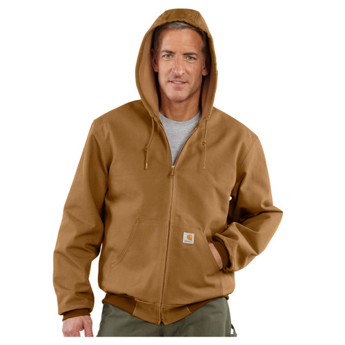 Carhartt Men's J131 Loose-Fit Firm Duck Thermal Active Jacket