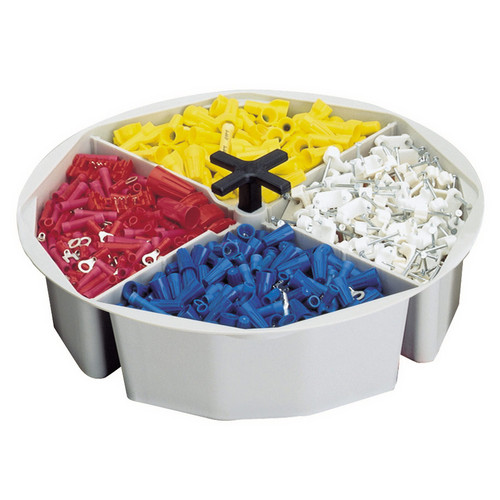 2.5 Inch High, Full-Round Bucket Tray by CLC