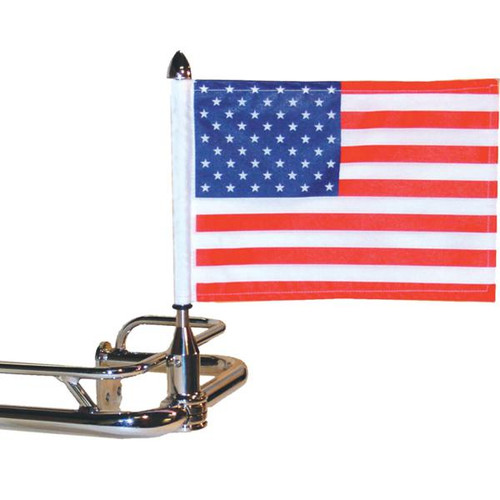 Fixed Motorcycle Flag Mount - 3/4""