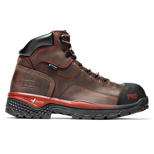 """Timberland PRO Men's 6"""" BossHog Composite Toe Work Boots with Anti-Fatigue"""