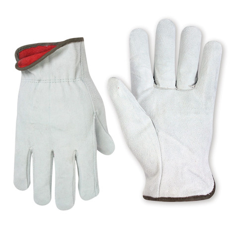 Custom LeatherCraft Winter Split Cowhide Driver Gloves - 2076
