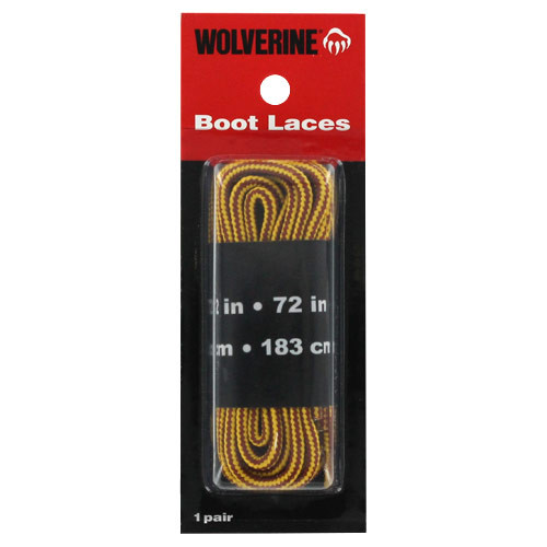 Wolverine 72in Gold Boot Laces W69411