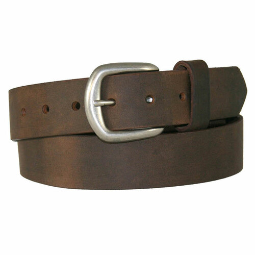 """1-1/2"""" Chieftain Leather Belt - Boston Leather"""
