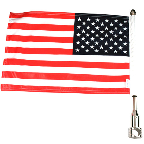Parade Fixed Motorcycle Flag Mount - 7/8""
