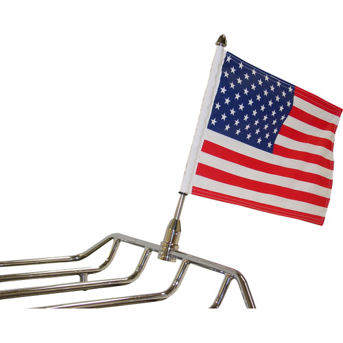 Parade Fixed Motorcycle Flag Mount - 1/2""