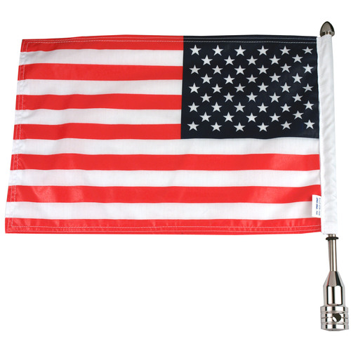 Parade Fixed Motorcycle Flag Mount - 3/8""