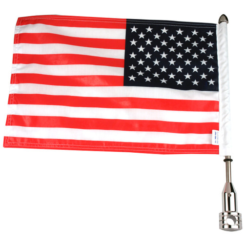 Parade Fixed Motorcycle Flag Mount - 5/8""