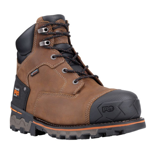 "Timberland PRO Men's 6"" Boondock EH Soft Toe Work Boots - 92673214"