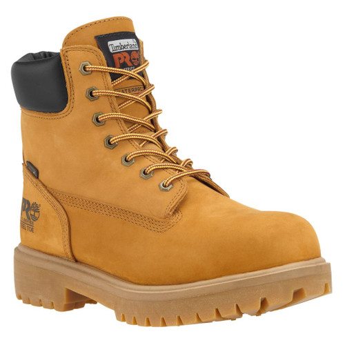 """Timberland PRO Men's 6"""" Direct Attach Steel Toe Insulated WP Work Boots - 65016713"""