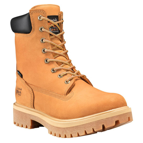 """Timberland PRO Men's 8"""" Direct Attach Steel Toe Insulated EH WP Work Boots - 26002713"""