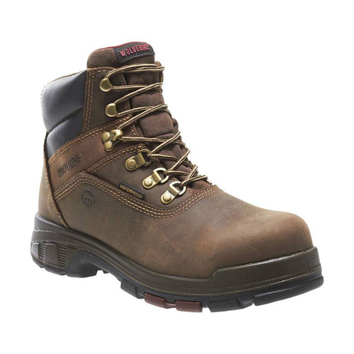 """Wolverine Men's Cabor 6"""" EPX Waterproof Work Boots"""
