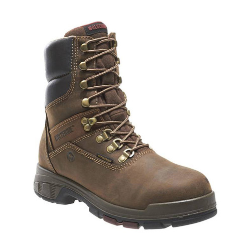 """Wolverine Men's Cabor 8"""" EPX Waterproof Work Boots"""