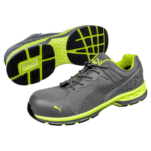 Puma Safety Men's Fuse Motion 2.0 Green SD Composite Toe Work Shoe - 643885
