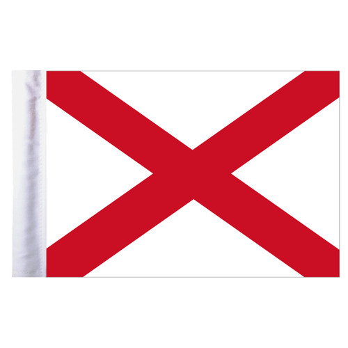 "Alabama Motorcycle Flag - 6"" x 9"""