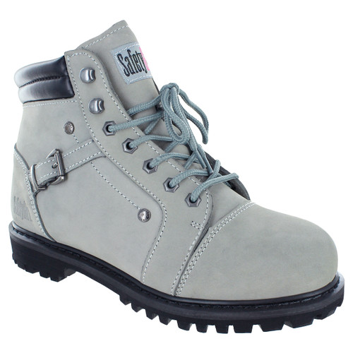 Fusion Work Boot - Safety Girl - Gray