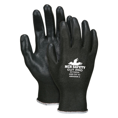 MCR Safety Memphis Cut Pro 92733PU Cut-Resistant Synthetic Shell Gloves