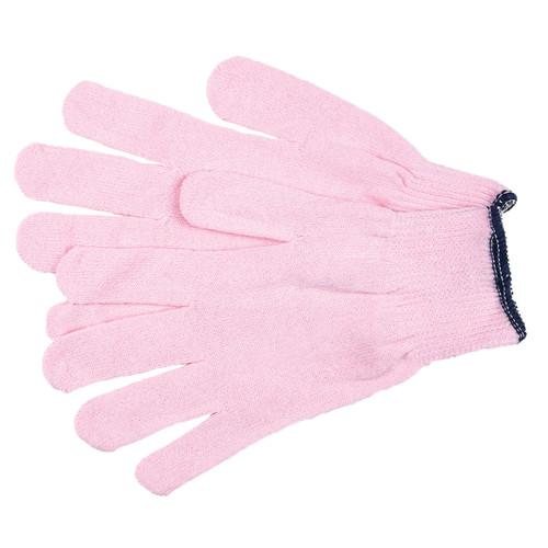 MCR Safety Women's Pink String Knit Gloves - 9612P