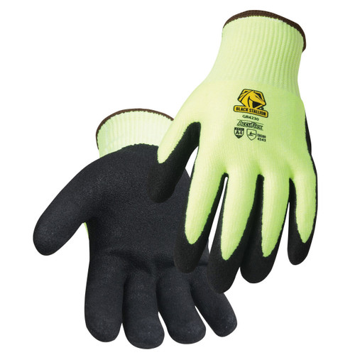 Black Stallion AccuFlex A4 Cut Resistant Nitrile-Coated Knit Gloves - GR4230