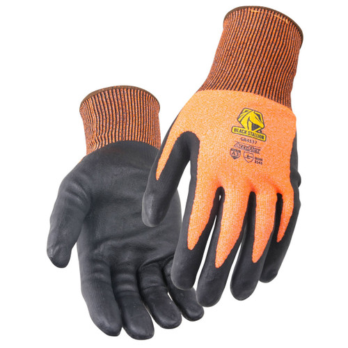 Black Stallion AccuFlex A3 Cut Resistant Micro-Foam Nitrile Coated Knit Gloves - GR4537