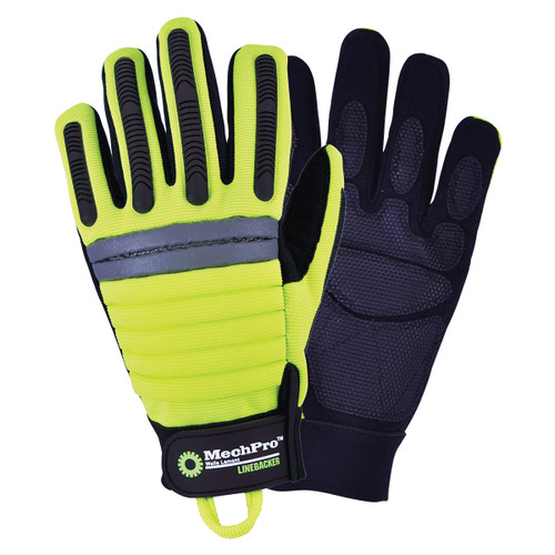Wells Lamont MechPro High-Vis Linebacker Gloves - 7780