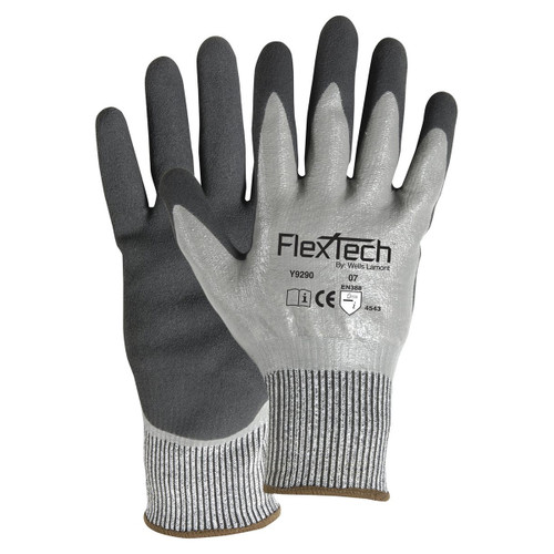 Wells Lamont FlexTech Cut Resistant Nitrile Palm Gloves - Y9290