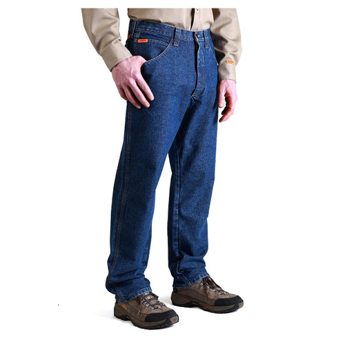 Wrangler Men's FR3W050 Riggs Workwear Fire-Resistant Relaxed Fit Jean