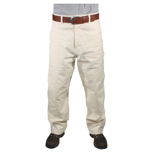 Rugged Blue Natural Reinforced Knee Painters Pants