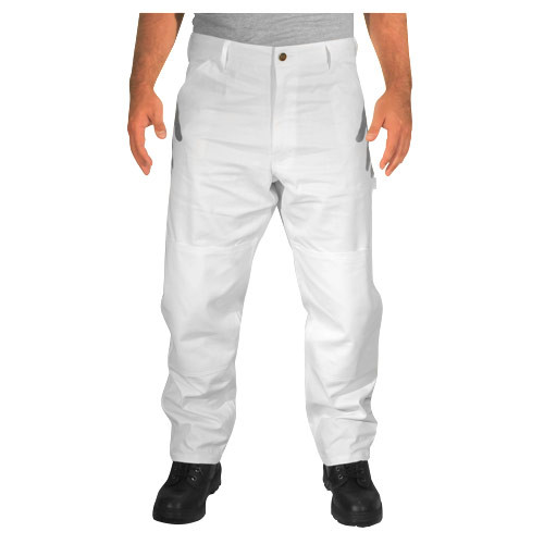 Rugged Blue Double Knee Painters Pants
