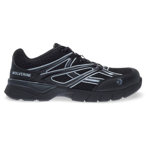 Wolverine Men's Black JetStream Carbonmax Safety Toe Shoes - W10674